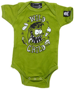 Sourpuss - Wild Child Onesie