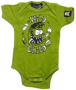 Green Wild Child Onesie