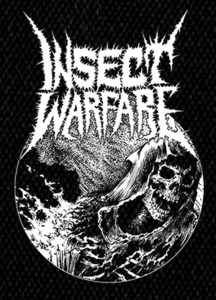 """Insect Warfare - Death Image - 5x6""""  Printed Patch"""