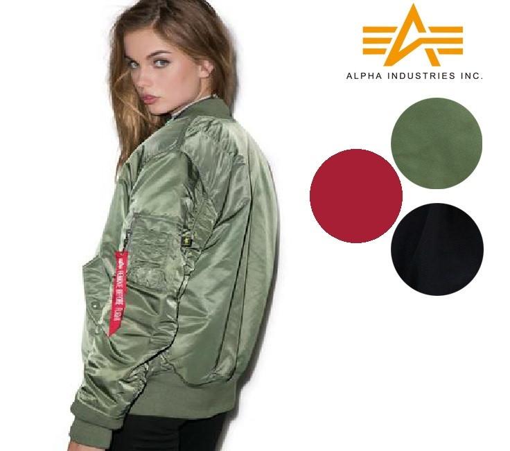 8045665d723d7a Industries Women s Alpha Ma Flight Jacket 1w vOwmN08n