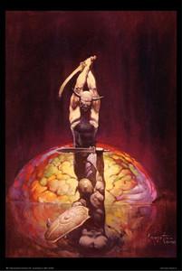 """Frazetta's The Brain 1967 24x36"""" Poster"""