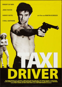 "Taxi Driver 24x36"" Poster"