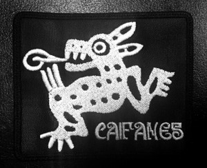 """Caifanes 3.5x2"""" Embroidered Patch"""