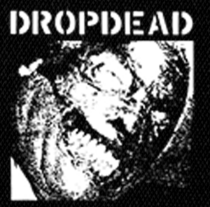 "Dropdead Logo 4x4"" Printed Patch"