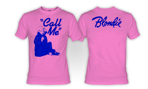 Blondie Call Me T-Shirt