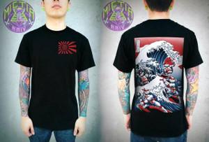 Mictia - TMNT Ninja Wave T-Shirt