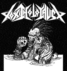 "Toxic Holocaust Alcoholocaust 4x5"" Printed Patch"