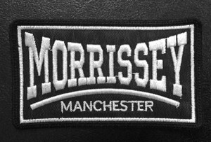 """Morrissey Manchester 4x2.5"""" Embroidered Patch"""