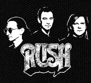 "Rush Band and Logo 5x4"" Printed Patch"