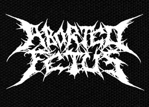 """Aborted Featus 5x3.5"""" Printed Patch"""
