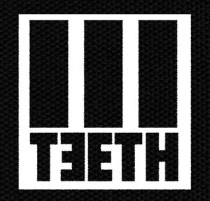"3Teeth Logo 4x5"" Printed Patch"
