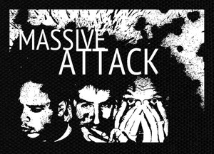 "Massive Attack Band 5x4"" Printed Patch"