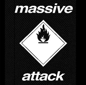 "Massive Attack Logo 4x5"" Printed Patch"
