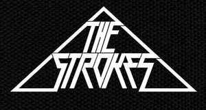 "The Strokes Triangle Logo 6x3"" Printed Patch"