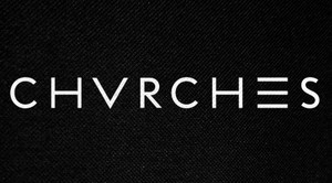 "Chvrches Logo 6x3"" Printed Patch"