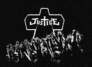 "Justice Cross 5x4"" Printed Patch"