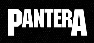 "Pantera Logo 5x3.5"" Printed Patch"
