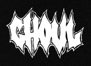 """Ghoul - Logo 4x3"""" Printed Patch"""
