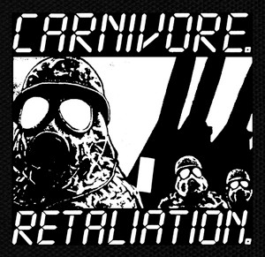 "Carnivore Retaliation 5x5"" Printed Patch"