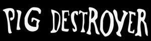 "Pig Destroyer - Logo 5.5x1.5"" Printed Sticker"