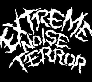 """Extreme Noise Terror - Logo 5.5x4"""" Printed Sticker"""