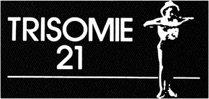 "Trisomie 21 - Logo 6x4"" Printed Patch"