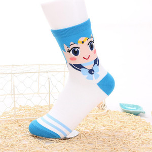 Sailor Moon - Mercury Crew Sock