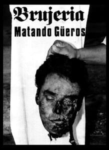 """Brujeria - Matando Gueros 4x5"""" Printed Sticker"""