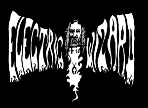 "Electric Wizard - Logo 4x4"" Printed Sticker"