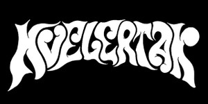 "Kvelertak - Curved Logo 6x3"" Printed Sticker"