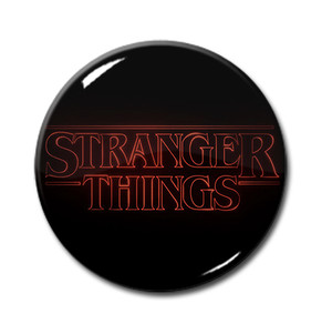 "Stranger Things - Logo 1.5"" Pin"