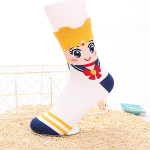 Sailor Moon - Serena  Crew Sock