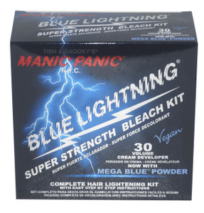 Manic Panic Blue Lightning Bleach Kit 30vol