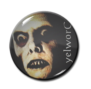 "Yelworc - The Exorcist 1.5"" Pin"
