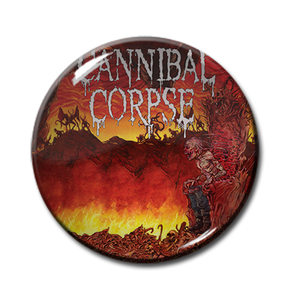 "Cannibal Corpse - Centuries of Torment 2.25"" Pin"