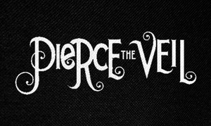 "Pierce the Veil Logo 5x3"" Printed Patch"