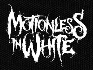 "Motionless in White Logo 6x5"" Printed Patch"