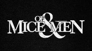 "Of Mice & Men Logo 6x3"" Printed Patch"