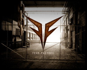 "Fear Factory - Fence Logo 5x4"" Color Patch"