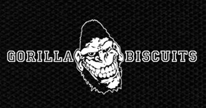 "Gorilla Biscuits Logo 5x3"" Printed Patch"