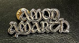 """Amon Amarth - Logo 2"""" Metal Badge Pin"""