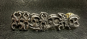 "Masacre - Logo 2"" Metal Badge Pin"