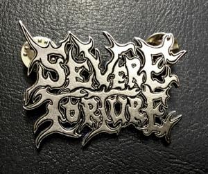 """Severe Torture - Logo 2"""" Metal Badge Pin"""