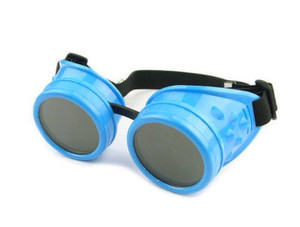 Plain Welding Goggles - Baby Blue