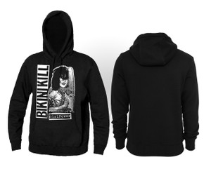 Bikini Kill Girl Power Hooded Sweatshirt