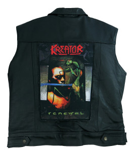 "Kreator Renewal 13.5"" x 10.5"" Color Backpatch"