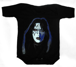 Baby Onesie - Kiss - Ace Frehley