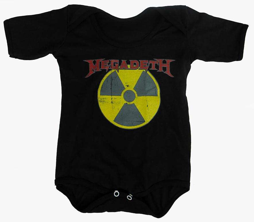 Baby Onesie Megadeth Radioactive