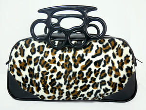 Squillo - Leopard Boxer Bag