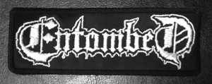 """Entombed Logo 5x3"""" Embroidered Patch"""